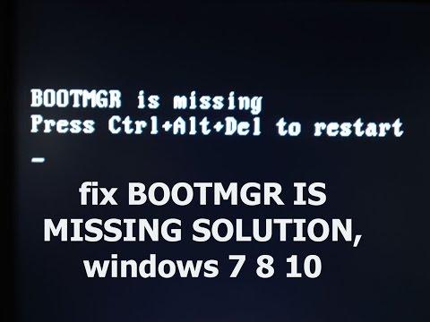 boot mgr